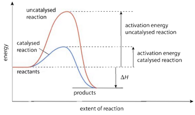 relation of activation energy with rate of reaction